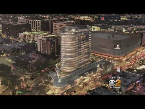 Homeowners Clash Over Impact Of Proposed High-Rise Near Beverly Center