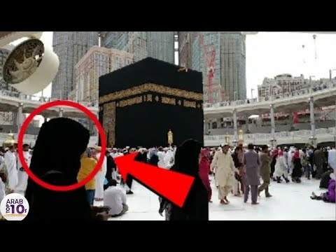 لو لم يتم تسجيل هذه الحظة في الحرم المكي لما صدقها أحد !!