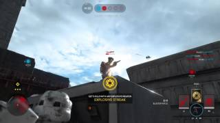Star Wars Battlefront Jump Pack + Bowcaster = Godly Combo