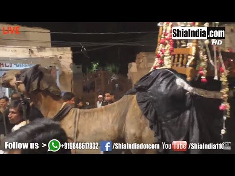27th Rajab   Safar-e-Imam Hussain (A.S) Hyderabad   1439-2018
