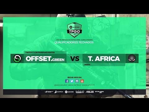 Moche TPGO - Qualificador Fechado - OFFSET.Green vs Team Africa