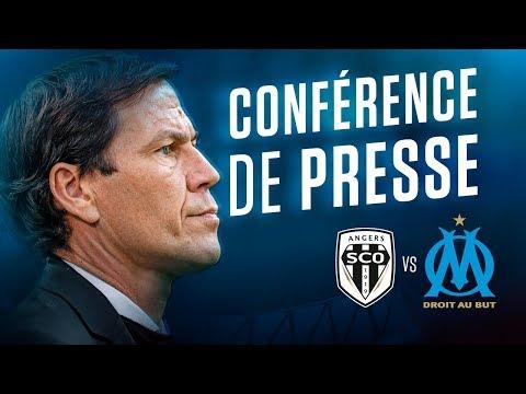 Angers – OM | La conférence de Rudi Garcia