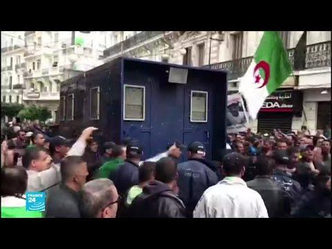 الجزائريون يتظاهرون رفضا للانتخابات في الجمعة 40 من الحراك  - نشر قبل 2 ساعة