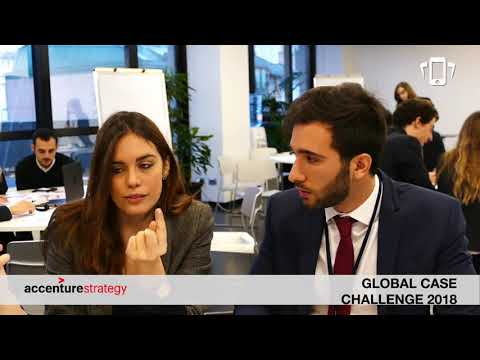 Accenture Strategy Global Case Challenge 2018 | Video Summary