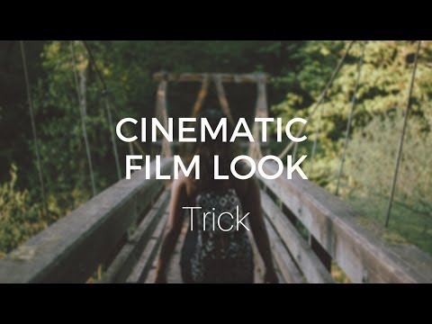Cinematic Film Look Trick (in less than 2 minutes) - DaVinci Resolve 14 Tutorial