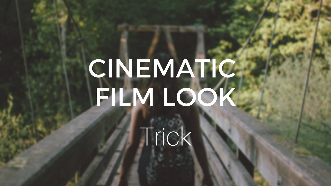 Cinematic Film Look Trick (in less than 2 minutes) - DaVinci Resolve Tutorial