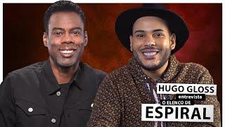 """Hugo Gloss entrevista Chris Rock e elenco de """"Espiral"""", novo filme da saga """"Jogos Mortais"""""""