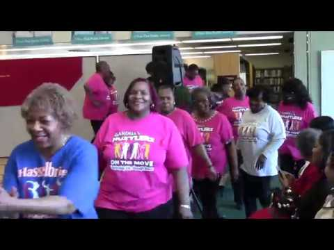 Hustlers on the Mover perform at the Flint Library 3-4-17