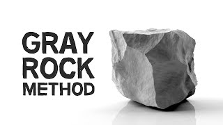The Gray Rock Method | Beat 'Toxic People' with Serenity