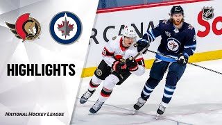 Senators @ Jets 5/8/21 | NHL Highlights