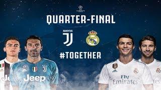 Prediksi Leg Pertama Perempat Final Liga Champions Juventus vs Real Madrid 4 April 2018