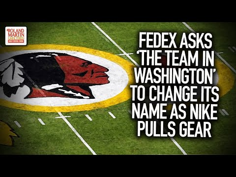 FedEx Asks 'The Team In Washington' To Change Its Name As Nike Pulls Gear From Its Online Store