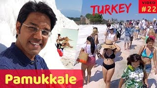 PAMUKKALE TRAVEL GUIDE - Best time | Things To do | Entrance fee, etc.