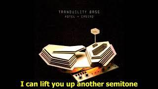 Arctic Monkeys  -  Four Out Of Five  (Lyrics)