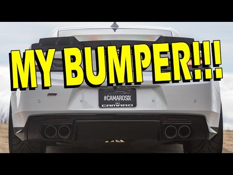 Bumper Emblem/Decal Removal