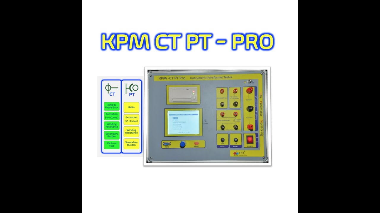 Testing CT &  PT ( Transformer Bushing CT , Bus Duct CT , S/S CT)