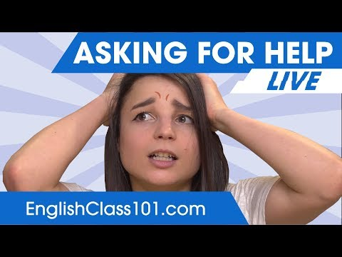 How to Ask for Help in English 🔴