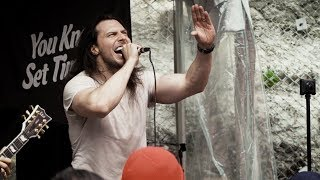 Andrew W.K. live, Brooklyn Vegan SXSW 2018 & PressureDrop.tv