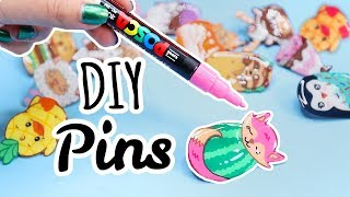 I Made DIY Plastic Pins...it's a good time
