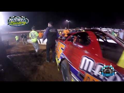 #35 Matt Tharp - Sportsman - 6-2-17 Tazewell Speedway - In-Car Camera