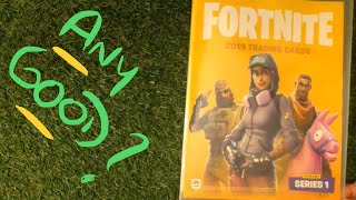 Panini Fortnite Series 1 Trading Cards (2019) - Any Good ?