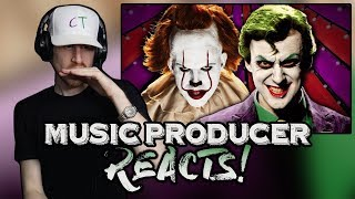 Download Music Producer Reacts to Joker vs Pennywise | Epic Rap Battles Of History Mp3 and Videos