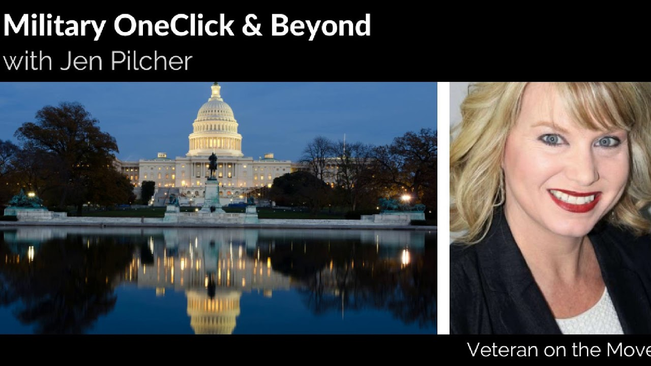 Military One Click Founder and Military Spouse Jen Pilcher - YouTube