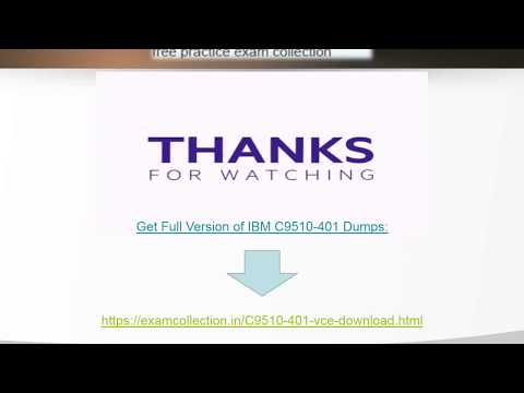 C9510-401 Exam Dumps | Examcollection.in