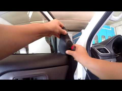 Mitsubishi L200   How to Replace a Car Door Mirror
