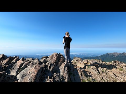 Hiking Maiden Peak in the Olympic Mountains