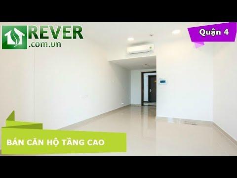 Bán căn hộ tầng cao River Gate Quận 4, diện tích 26 6m2 thiết kế thoáng 1 phòng ngủ  | Rever