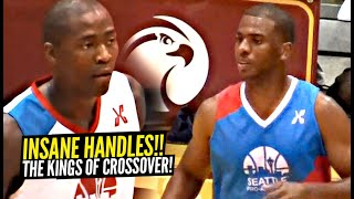 Jamal Crawford vs Chris Paul FACE OFF & It Was EPIC!!!! Insane Handles!! The KINGS Of Crossover!