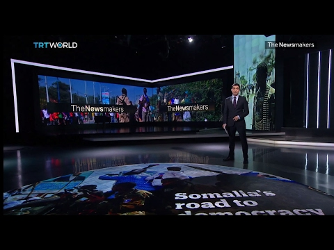 The Newsmakers: Romania's people power and Somalia's road to democracy