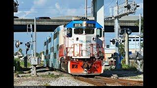 Tri-Rail Train 815 Southbound To Deerfield Beach Station