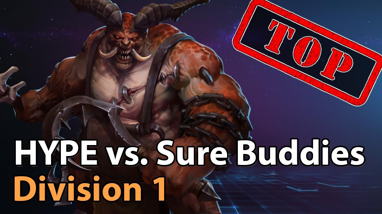 ► HYPE vs. Sure Buddies - Division 1 - Heroes of the Storm Esports