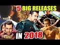Salman Khan's TOP 5 Film Release In 2018