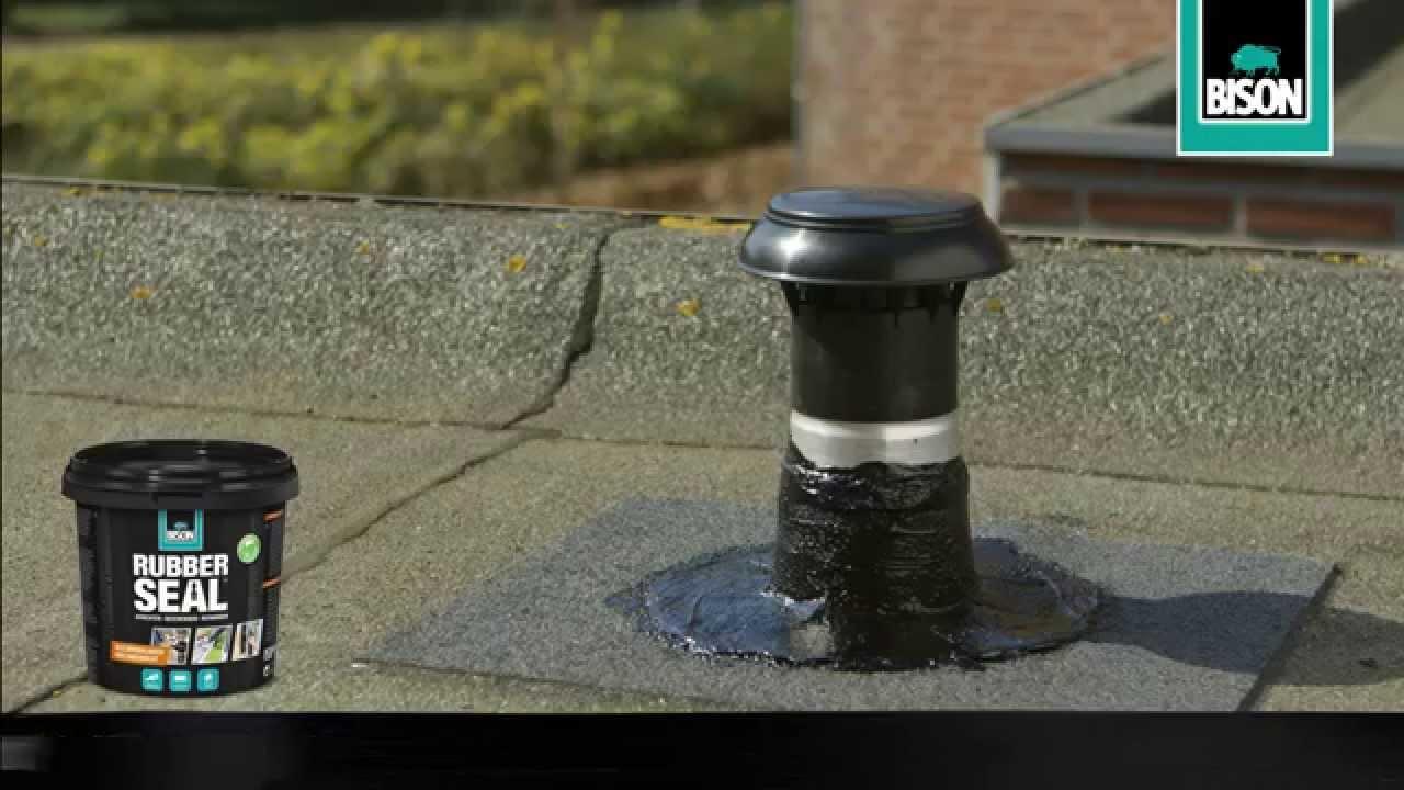Bekend Hoe maak je een dakdoorvoer waterdicht? - Klustips - YouTube RZ47