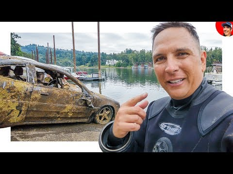 5 CARS FOUND IN RIVER... Incl. VW & Corvette Stingray? (Scuba Diving)
