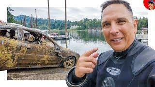 5 CARS FOUND IN RIVER... Incl. VW & Corvette Stingray? (Scuba Diving)