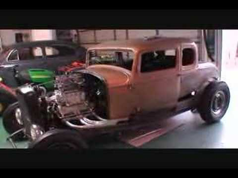Blown 283 4-71 Blower 32 Ford