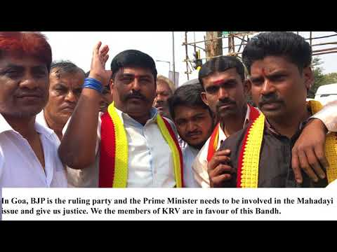 City comes to a standstill as pro Kannada activists push farmers cause