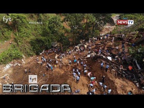 Brigada: Pinsala ng landslide sa Benguet dulot ng Bagyong Ompong, tinutukan ng 'Brigada'