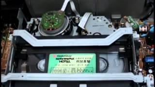 비디오 플레이어(VTR)내부 작동모습