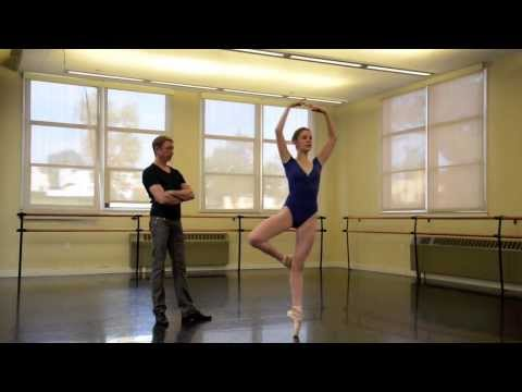 Inside Scout's Private Ballet Lesson with Maxim Tchernychev