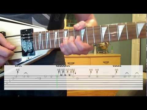 Another Brick in the Wall Solo (Lesson & Cover) W/ TAB
