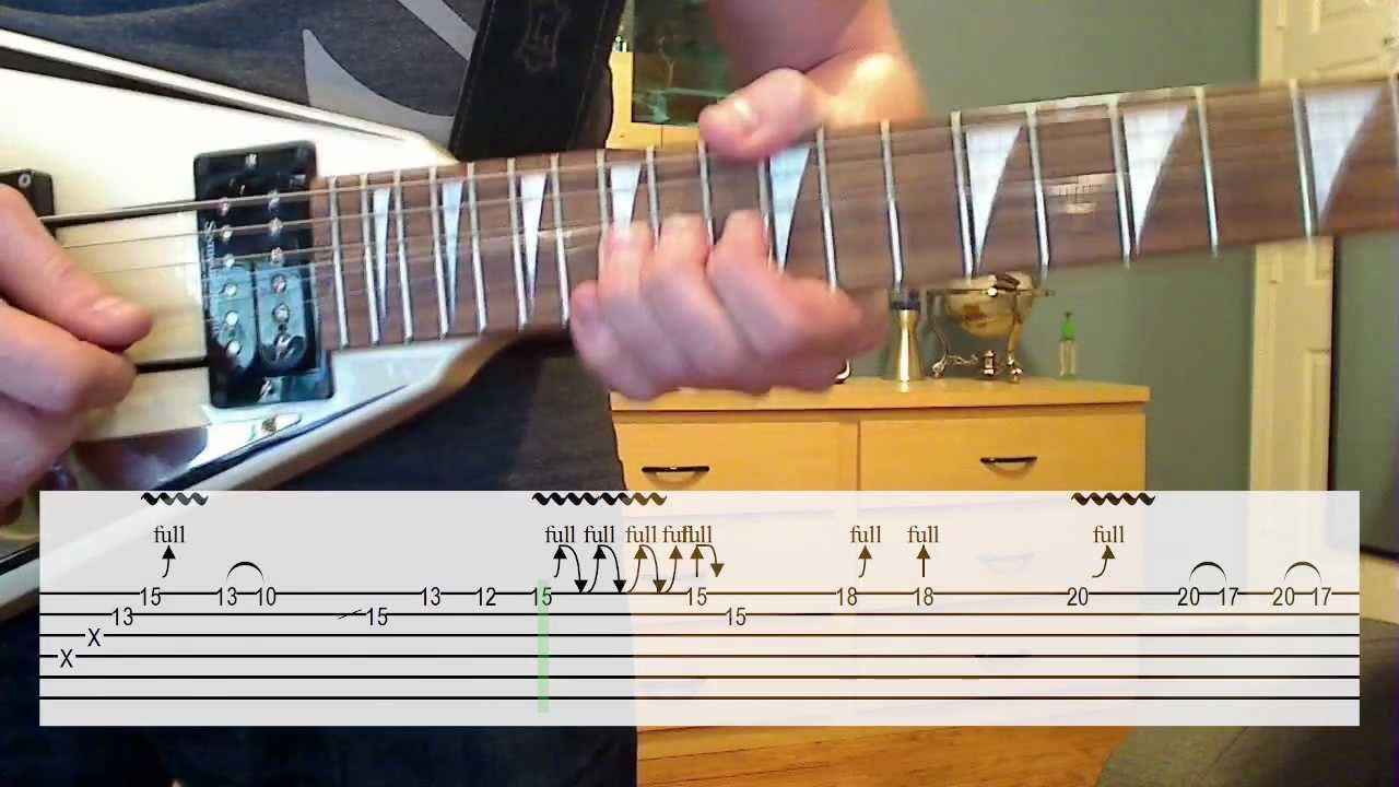 Another Brick In The Wall Solo Lesson Cover W Tab Youtube
