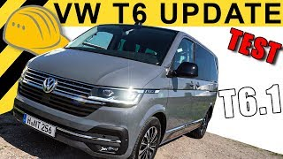 LOHNT DAS UPDATE? VW T6.1 TEST | T6 FACELIFT MULTIVAN 4-MOTION 199PS!