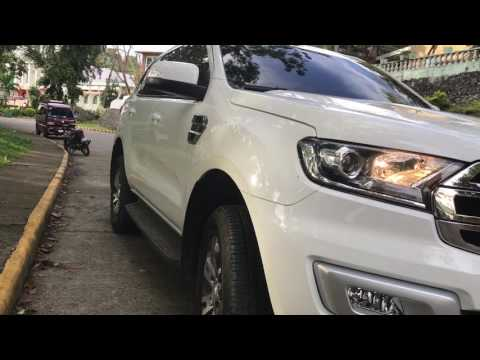 Ford Everest Trend 2017 4x2 AT delivery (cool white)