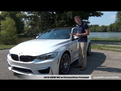 Review: 2016 BMW M3 w/ Competition Package