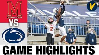 Maryland Vs Penn State Highlights   Week 10 2020 College Football Highlights